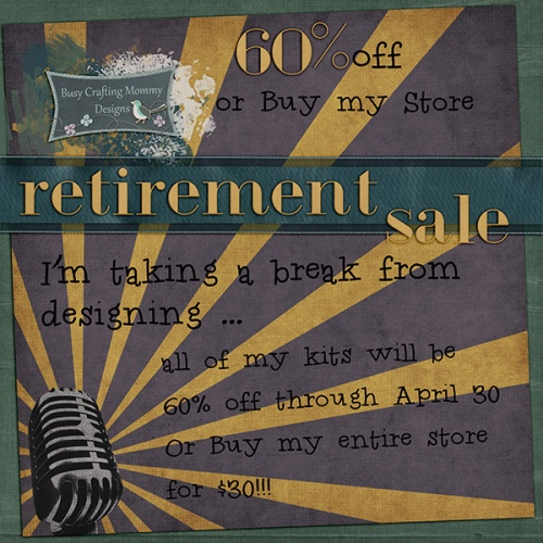 retirement flier